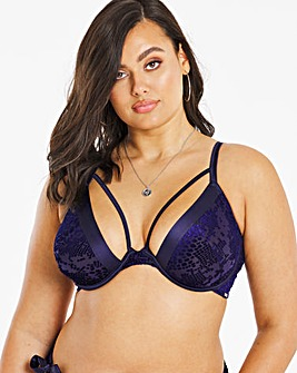 Figleaves Curve Animal Burnout Bra