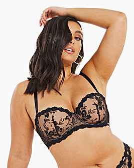 Figleaves Curve Bella Embroidered Balcony Multiway Bra