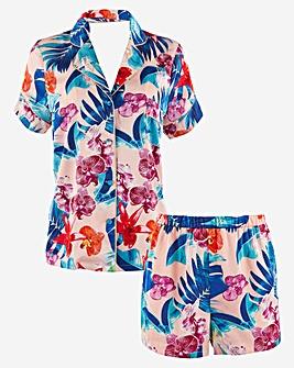 Figleaves Curve Floral Print PJ Set