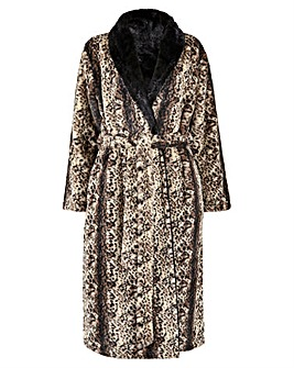 Figleaves Curve Faux Fur Robe