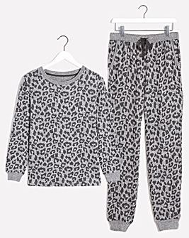 Figleaves Curve Supersoft Animal Loungewear Set