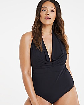 Figleaves Curve Cannes Cowl Neck Swimsuit