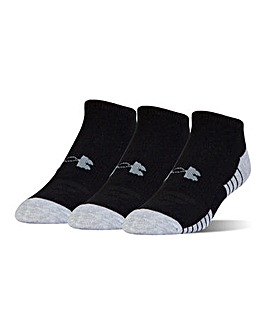 Under Armour Heatgear Tech No Show 3PK
