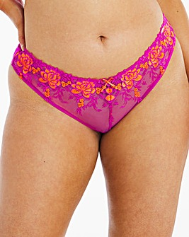 Figleaves Curve Neon Flower V Brief