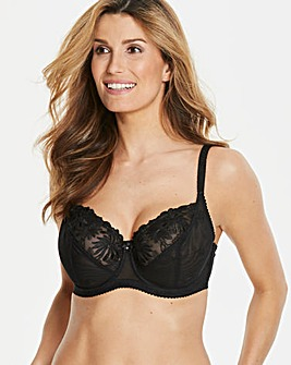 Pour Moi St Tropez Full Cup Wired Black Bra