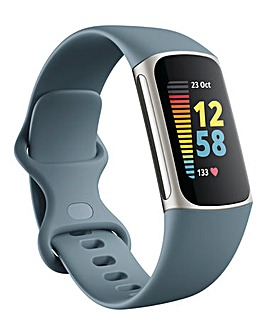 FitBit Charge 5 Platinum/Mineral Blue