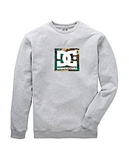 DC Shoes Camo Boxing Crewneck Sweat