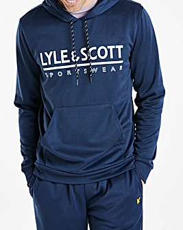 Lyle & Scott Sport Cheviot Graphic Hoodie