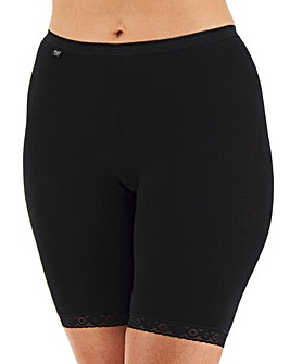 Sloggi Basic Long Leg Briefs Black