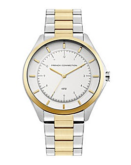 Ladies French Connection Round Dial Bracelet Watch