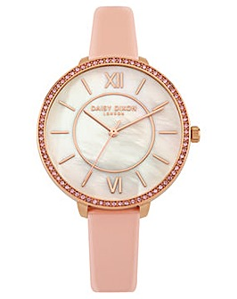 Ladies Daisy Dixon Round Dial Strap Watch