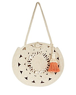 Monsoon Carella Circle Cotton Bag