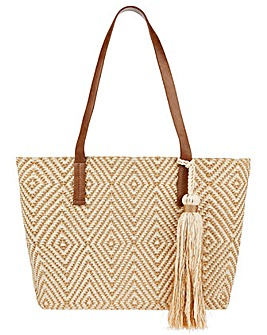 Monsoon Cardinal Metallic Shopper