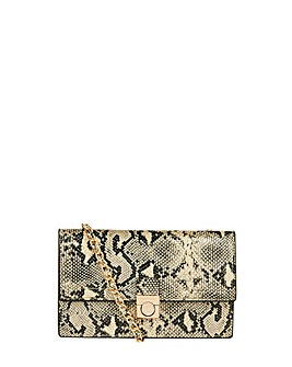 Monsoon Santana Snake Cross Body Bag