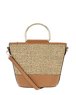 Accessorize Mae Metal Handle Bag