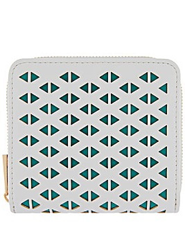 Accessorize Leah Lasercut Small Wallet