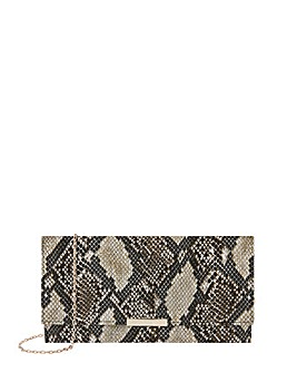 Accessorize Snake Kelly Clutch