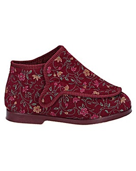 GBS Rhona Ladies Extra Wide Fit Slipper