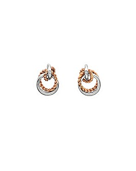 Hot Diamonds Unity Circle Earrings