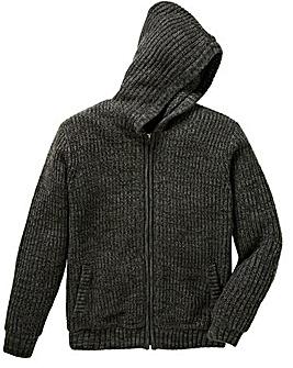 Jacamo Faux Fur Lined Knit Regular