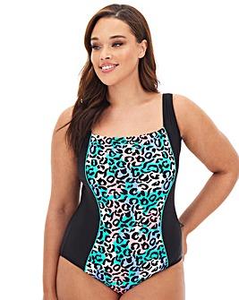 Square Neck Sport Swimsuit