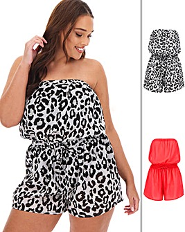 Value 2 Pack Playsuits