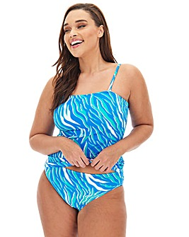 Basic Value Multiway Bandeau Tankini Top