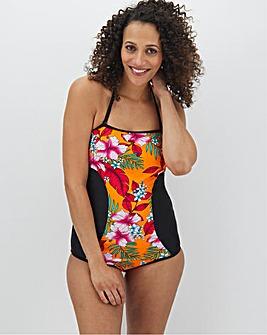 Contrast Multiway Bandeau Swimsuit