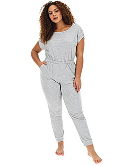 Pretty Secrets Popper Detail Jumpsuit