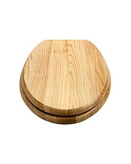 Solid Wood Slow Close Toilet Seat