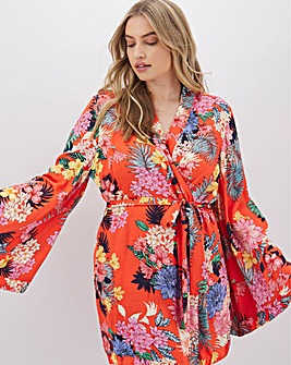 Pretty Secrets Dramatic Sleeve Robe