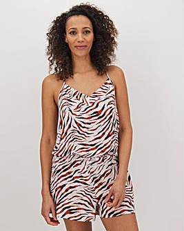 Pretty Secrets Zebra Playsuit