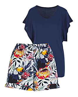 Pretty Secrets Toucan Tshirt and Shortie Set
