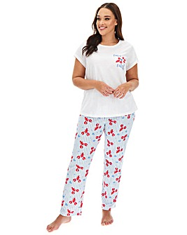 Pretty Secrets Valentines Value PJ Set