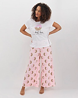 Pretty Secrets Value Wide Leg PJ