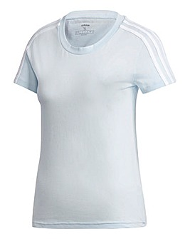 adidas 3 Stripe T-Shirt