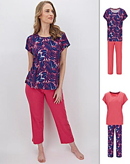 Pretty Secrets Value 2Pk Pyjama Sets