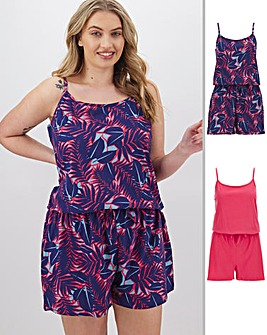 Pretty Secrets Value 2Pk Playsuits