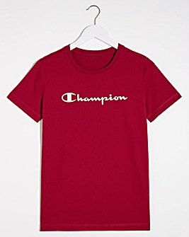 Champion Crew Neck T-Shirt
