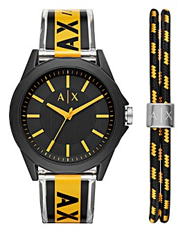 Armani Exchange Watch Gift Set