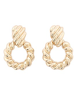 Mini Knocker Textured Earrings