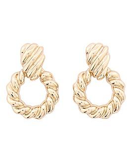 Mini Knocker Textured Earrings