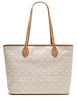 Valentino Bags Liuto Logo Motif Tote Bag