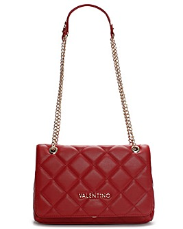 Valentino Bags Ocarina Quilted Satchel