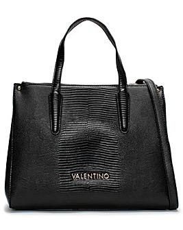 Valentino Bags Kensington Reptile Shopper Bag