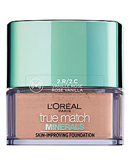 L'Oreal Paris True Match Minerals Powder Foundation 2C Vanilla Rose