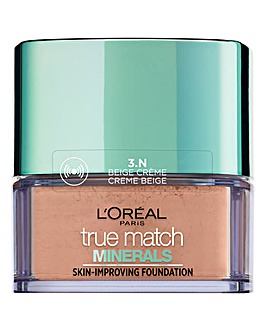 L'Oreal Paris True Match Minerals Powder Foundation 3N Beige Cream