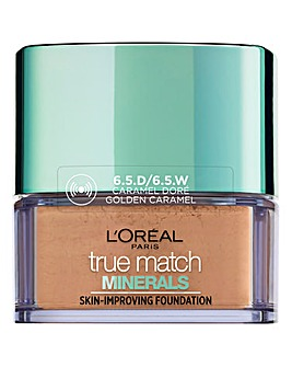 L'Oreal Paris True Match Minerals Powder Foundation 6.5W Golden Caramel