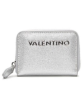 Valentino Bags Divina Pebbled Coin Purse