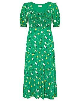 Monsoon Nicky Ditsy Floral Jersey Dress